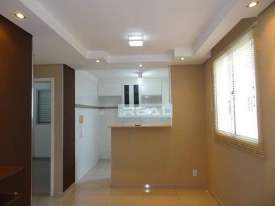 Apartamento Com 2 Dormitórios Para Alugar, 43 M² Por R$ 1.200/mês - Condomínio Parque Padovani - Paulínia/sp - Ap0880