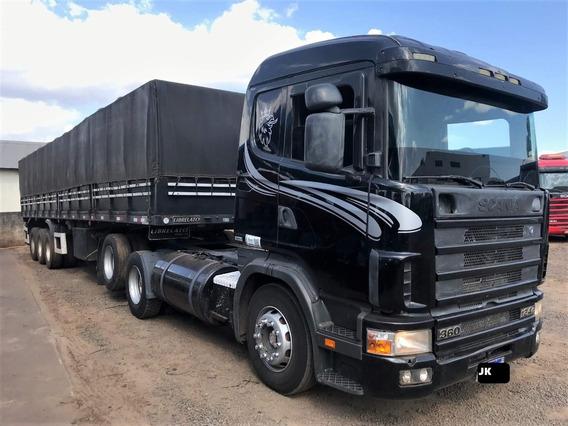 Scania 124 360 Com Carreta Ls