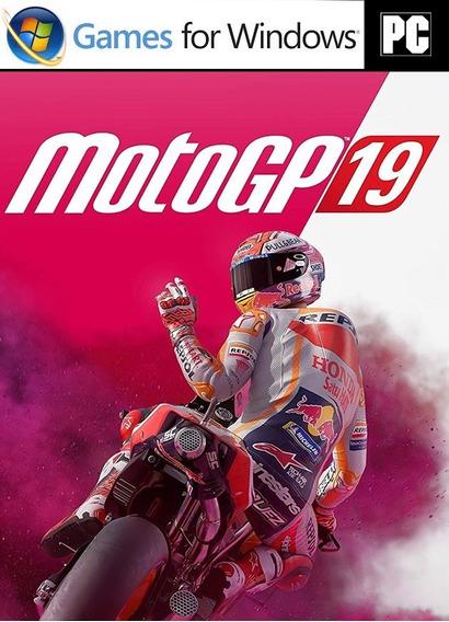 Moto Gp 19 Simulador - Game Pc - Mídia Digital - Portugues