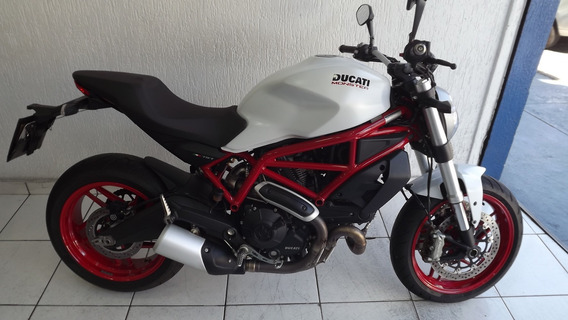 Ducati Monster 797 Abs 2018 Branca