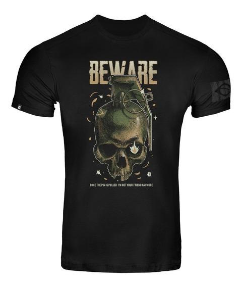 Camiseta T-shirt Invictus Concept Pin Tática Airsoft Granada