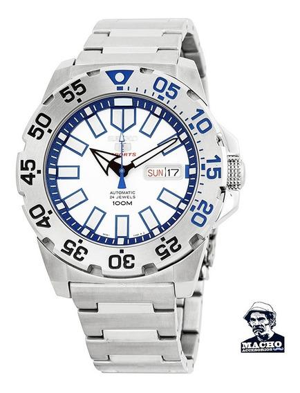 Reloj Seiko 5 Sports Baby Monster Srp481 Automatico En Stock