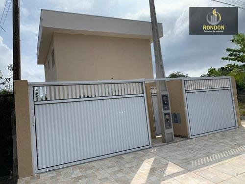 Casa Com 2 Dormitórios À Venda Por R$ 160.000 - Savoy - Itanhaém/sp - Ca1126
