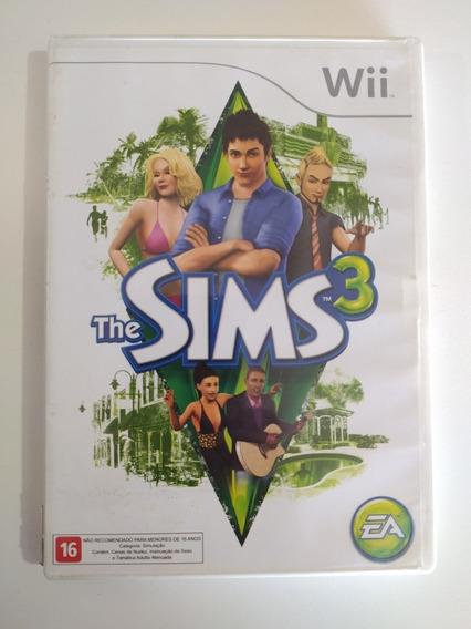 Jogo The Sims 3 Original Para Nintendo Wii