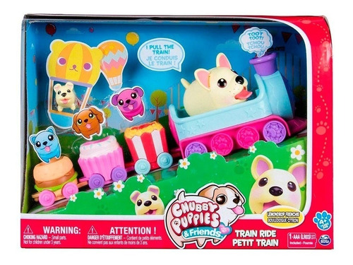 Chubby Puppies & Friends Paseo En Tren
