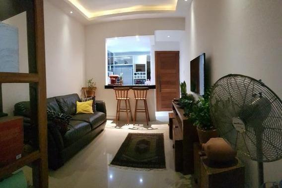 Apartamento Com 1 Quarto, Todo Reformado, Vista Para A Praia De Charitas - Ap3394