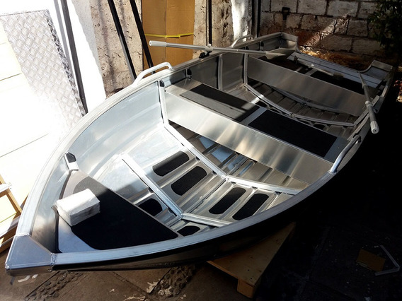 Bote Aluminio Bluebay 3.80 Metros - 6 Cuotas Sin Interes