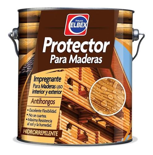 Imagen 1 de 2 de Protector De Maderas Elbex 3.6 Lts. - Cedro