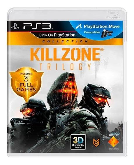 Killzone Trilogy Ps3 Mídia Física Pronta Entrega