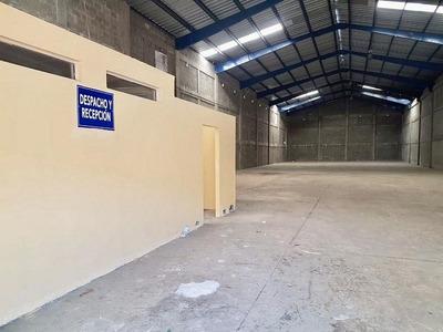 Rento Nave Industrial En Alameda