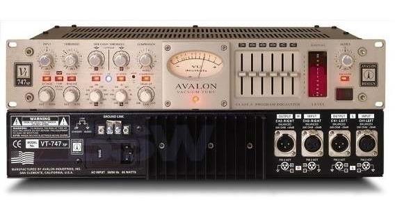 Avalon Vt 747 Sp Pré Amplificador
