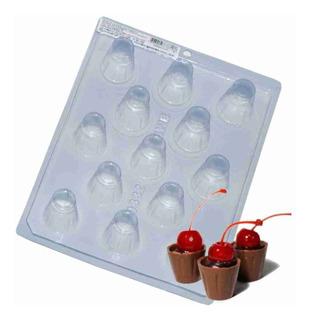 Forma Para Chocolate Copinho De Licor Ref. 9332 - Pct 5 Unid