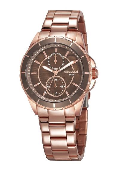 Relógio Seculus Masculino 28972lpsvrs1