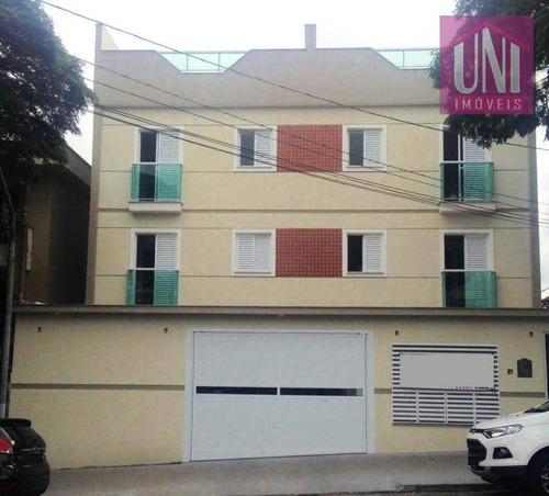 Imagem 1 de 10 de Apartamento Residencial À Venda, Paraíso, Santo André. - Ap1472