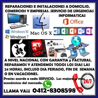 Servicio Técnico Reparación Pc Laptop Mac Formateo Domicilio