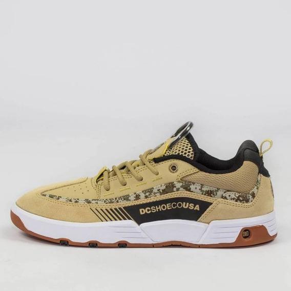 Tênis Dc Shoes Carlos Iqui Tan Camuflado Envio Imediato Original