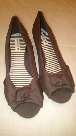 Zapatos Sandalias Boca De Pez American Eagle