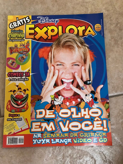 Revista Explora Disney 73 Xuxa Lança Video E Cd