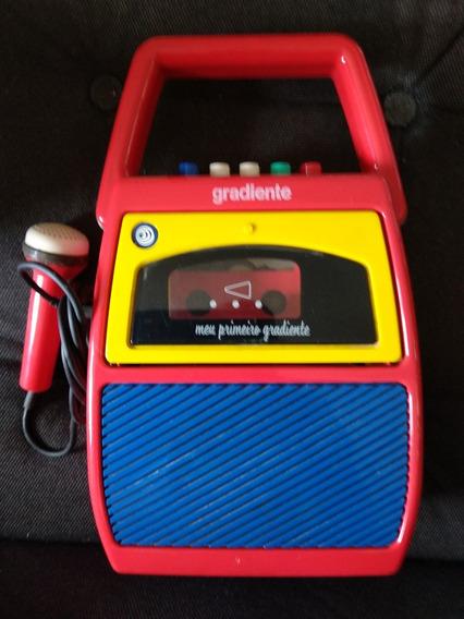 Radio Gravador Antigo Meu Primeiro Gradiente Anos 80