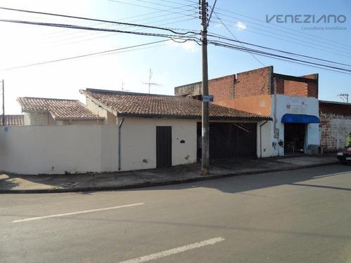 Casa Residencial À Venda, Conjunto Residencial Mário Dedini, Piracicaba. - Ca0261