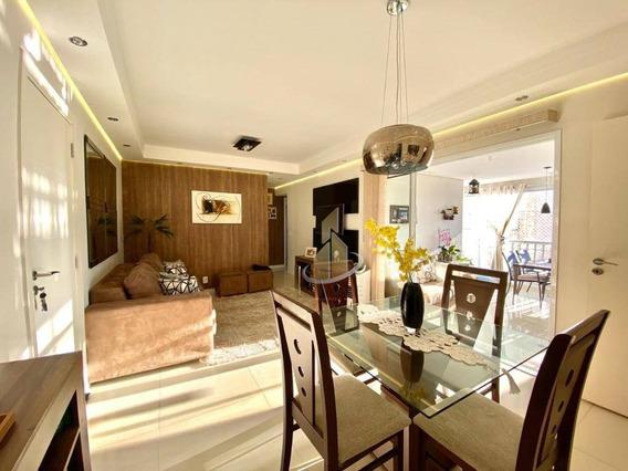 Apartamento Com 2 Dormitórios À Venda, 90 M² Por R$ 620.000 - Jardim Aquarius - São José Dos Campos/sp - Ap0110