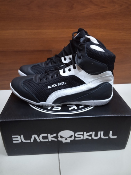 Botinha Black Skull Bs 3020