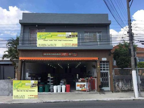Salão - Cidade A. E. Carvalho - Com 205m²  E Wc - 1348