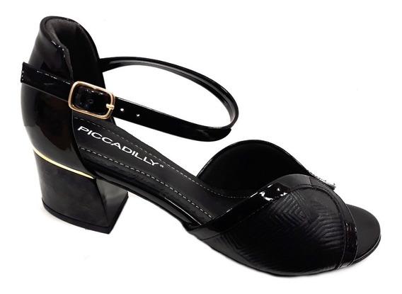 Zapato Mujer Piccadilly Sandalia Taco 5cm Especial Joanetes
