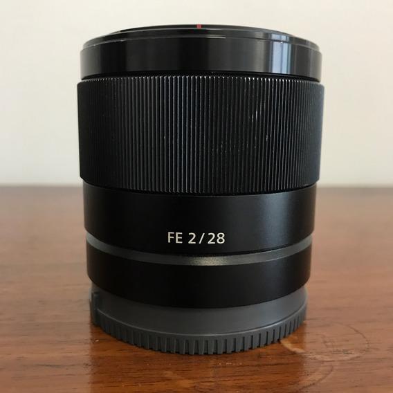 Sony Fe 28mm F2 - Sel28f20 - Nf