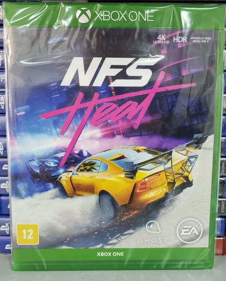Need For Speed Heat Jogo Xbox One Mídia Física Novo Portuguê