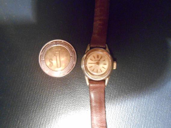 Precioso Reloj De Los 60s Para Dama Nivada