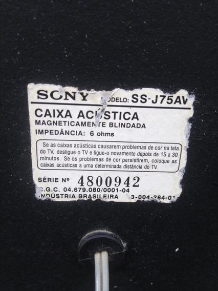 2 Caixas De Som Sony Ss J75av Antigus