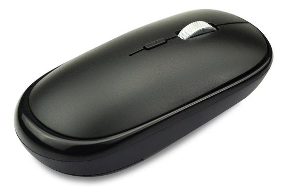 Mouse Inalámbrico Recargable Negro Tedge