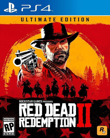 Red Dead Redemption 2 Ultimate Edition - Ps4 - Mídia Física