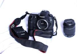 Kit Canon Eos 60d+2 Baterias+grip Vertical+lente18-55mm
