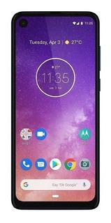 Celular Motorola One Vision 4gb + 128gb New!gtia!sellado!rsr