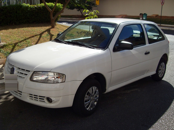 Volkswagen Gol 13/14, Branco, 1.0, T. Flex, Revisado