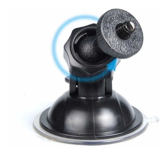 Gopro Ventosa Suction Go Pro Suporte Sucção Vidros Fixação