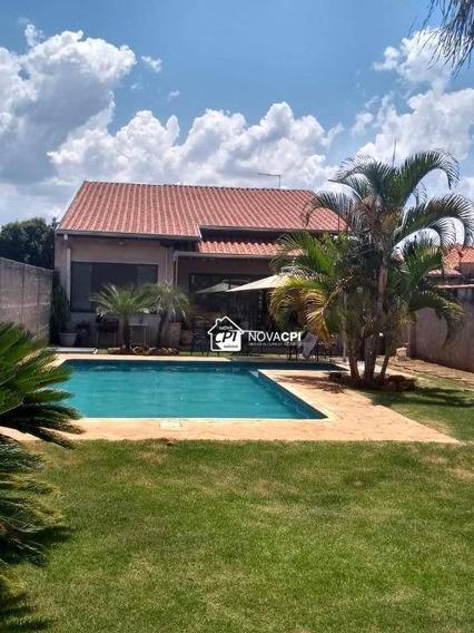 Chácara Com 2 Dormitórios À Venda, 1000 M² Por R$ 950.000 - João Aranha - Paulínia/sp - Ch0011