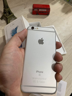 iPhone 6s 16gb Silver Semi-novo 12x