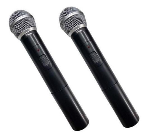 Par De Microfonos Inalambricos Profesionalales Uhf En Cuotas