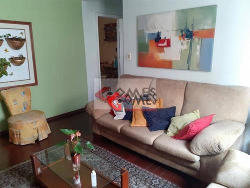 Apartamento Com 3 Dormitórios À Venda, 92 M² Por R$ 400.000,00 - Jardim Do Mar - São Bernardo Do Campo/sp - Ap2516