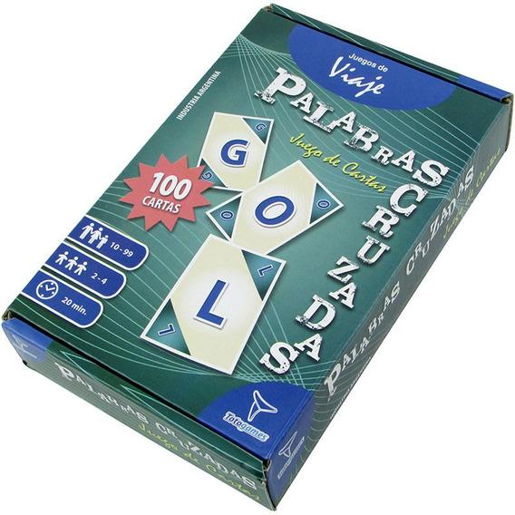 Palabras Cruzadas - Juego De Cartas- Toto Games