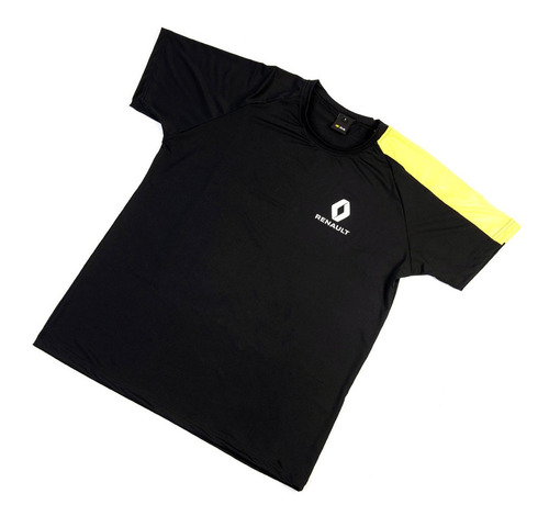 Remera Hombre Rs Manga Amarilla T: L Boutique Renault