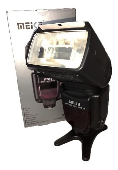 Flash Meike P/ Nikon Mk910 Seminovo Perfeito