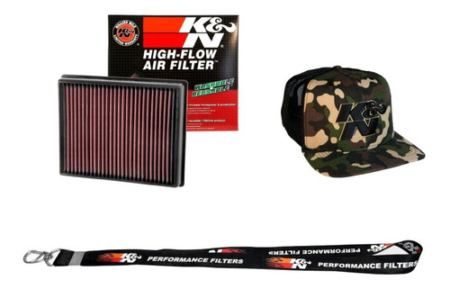 Filtro Ar K&n Inbox Ford Fusion Ecoboost 33-5000 Bone Brinde