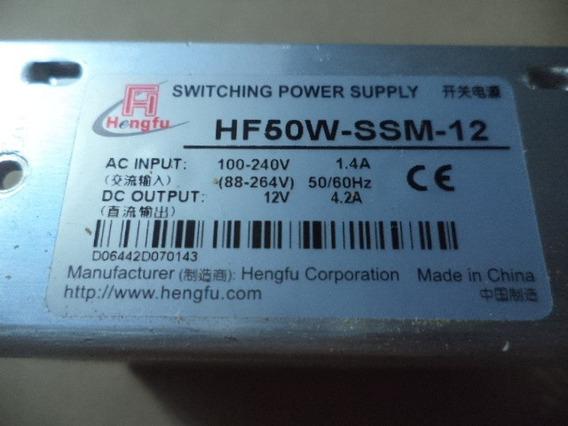 Fonte Chaveada 4.2 Amperes 50w 12v Bivol Ms-50-12 4.2a