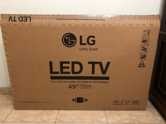 LG Tv 49lv300c Tela Quebrada - Leia O Anuncio