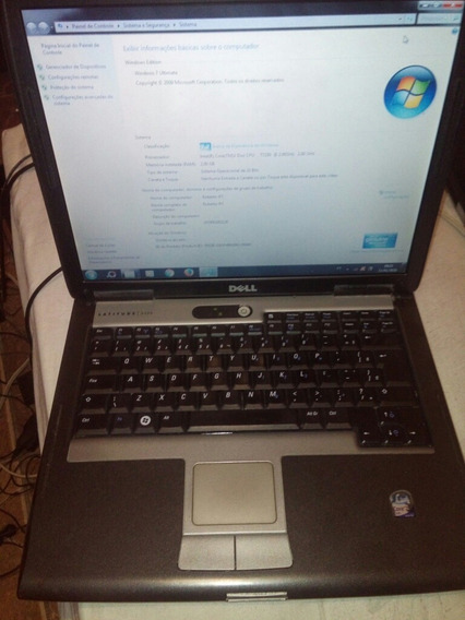 Notebook Dell Latitude D530 Detalhes