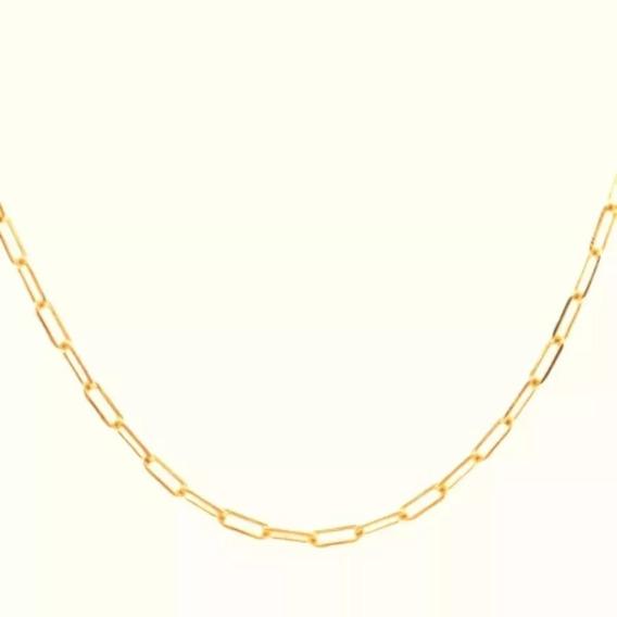 1 Cordão Folheado A Ouro 18k 3m-60 Cm (envio Carta 9,90)